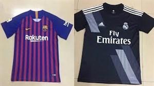 کیتهای تائید شده باشگاههایمطرحفوتبال در 19-2018