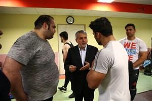 آخرین وضعیت اعضای تیم ملی وزنه برداری