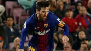 صحنه هایی از جادوی مسی در فوتبال