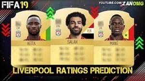 تغییر قدرت احتمالی بازیکنان لیورپول در FIFA19