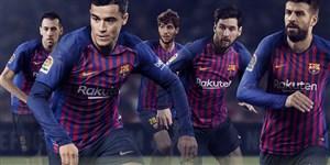 رونمایی از کیت جدید بارسلونا برای فصل 2018/19