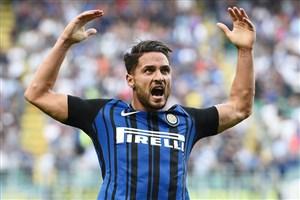 گل اول اینتر به لاتزیو (دی آمبروزیو)