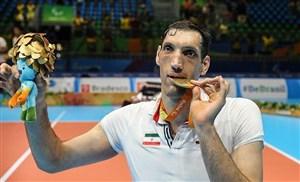 مهرزاد نامزد بهترین ورزشکار معلول ماه جولای جهان