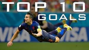 خاطره انگیزها -10 گل برتر جام جهانی 2014
