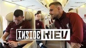سفر بازیکنان لیورپول به شهر کیف