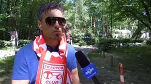دعوت رییس فدراسیون اوکراین از خطیبی برای فینال کیف
