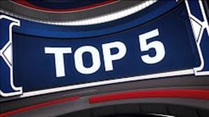 5 حرکت برتر لیگ بسکتبال NBA در شب گذشته