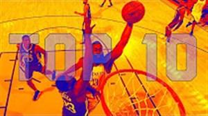 10 حرکت برتر بسکتبال NBA در هفته ای که گذشت