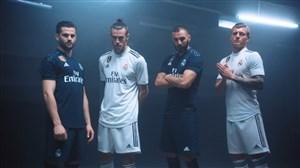 رونمایی از لباس رئال مادرید برای فصل 19-2018