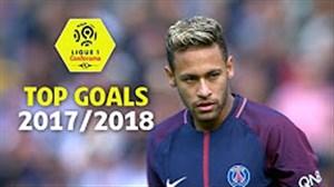 10 گل برتر لوشامپیونه فرانسه در فصل 2017/18