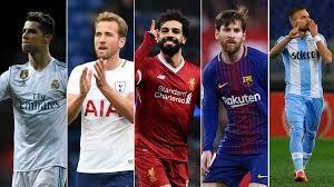 10 گلزن برتر لیگ های اروپایی در فصل 18-2017