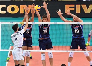 آغاز والیبال چهارجانبه اسلوونی با دیدار ایران-آمریکا