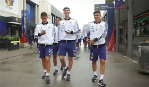 تور همراهان تیم ملی آرژانتین از ورزشگاه بارسلونا
