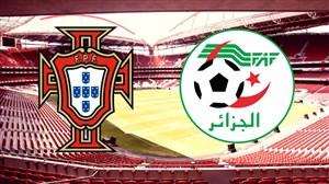 خلاصه بازی پرتغال ۳ - الجزایر ۰