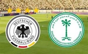خلاصه بازی دوستانه  آلمان 2 - عربستان 1