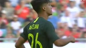 اولین گل ملی دنیل ارزانی برای تیم ملی استرالیا