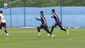 تمرین امروز تیم ملی آرژانتین در نوبت صبح