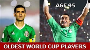 مسنترین بازیکنان حاضر در جامجهانی 2018