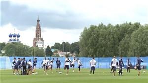 تمرینات آماده سازی تیم ملی آرژانتین (23-03-97)