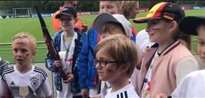 طرفداران کوچک مانوئل نویر در تمرین امروز  آلمان