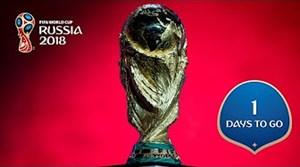 1 روز مانده تا جام جهانی 2018 روسیه