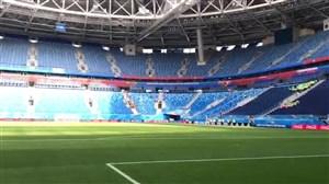 استادیوم محل بازی ایران - مراکش