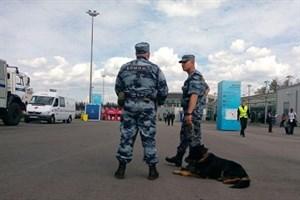 تدابیر امنیتی اطراف ورزشگاه سن پترزبورگ