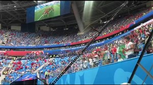 حال و هوای ورزشگاه قبل از بازی ایران - مراکش ( اختصاصی )