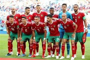 نفر به نفر بازیکنان مراکش مقابل ایران