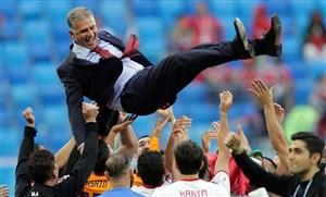 خاطره بازی کیروش با پیروزی تاریخی ایران(عکس)