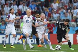 آرژانتین 1 - ایسلند 1؛ محاصره مسی