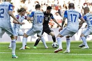 5 نکته از بازی عجیب ایسلند و آرژانتین!