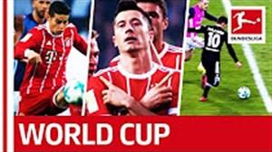 ستارگانی از بوندسلیگا و حاضر در جام جهانی روسیه 2018