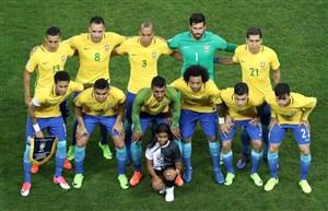 برزیل با همان ستارهها و صربستان با ۳ تغییر
