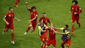 گفتگو با بهترین بازیکن دیدار بلژیک و برزیل