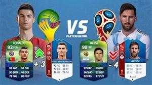 قدرت های بازیکنان در جامجهانی FIFA14 و FIFA18