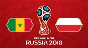 خلاصه بازی لهستان 1 - سنگال 2 (جام جهانی روسیه)