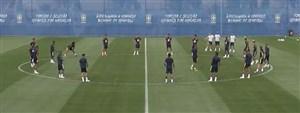 تمرین امروز تیم ملی برزیل (29-03-97)