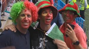 حذف مراکش و واکنش های هواداران (پرتغال-مراکش)