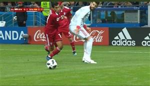 صحبتهای پیکه پس از 100 بازی در اسپانیا در دیدار با ایران
