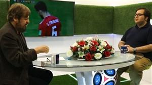 تحلیل بازی ایران - اسپانیا با پژمان راهبر و حمیدرضا صدر (2)