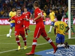 پیش بازی صربستان - سوئیس