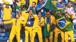 واکنش های هواداران پس از بازی برزیل-کاستاریکا