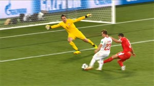 گل دوم سوئیس به صربستان (ژردان شقیری)