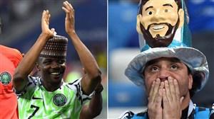 مهاجم نیجریه: گلزنی به آرژانتین کار آسانی است