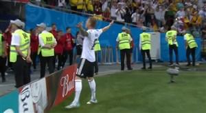 سوپر گل سه امتیازی تونی کروس به سوئد