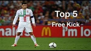 5 گل ضربه ایستگاهی کریستیانو رونالدو در لباس تیم ملی