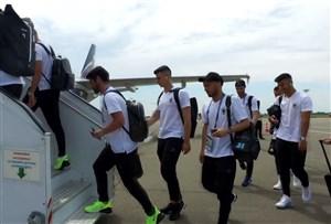 سفر بازیکنان اسپانیا به لندن برای دیدار با انگلیس