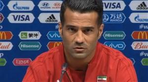 کنفرانس خبری مسعود شجاعی پیش از بازی با پرتغال
