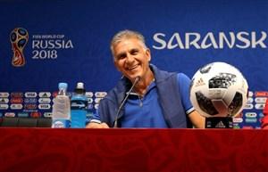 نشست خبری کیروش پیش از دیدار ایران با پرتغال